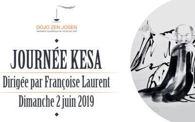 Journée de couture du Kesa avec Françoise Laurent